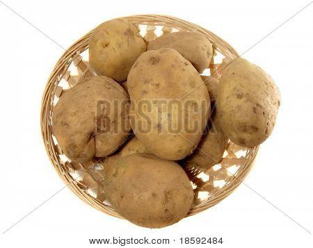 Potato in the punnet