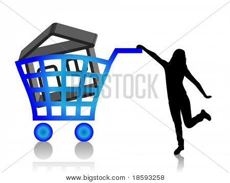 Buy house vector