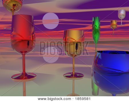 Surreal Cocktail Hour
