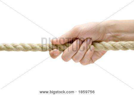 Hand Pulling Rope