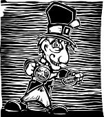 image of mad hatter  - Mad Hatter from from Lewis Carroll - JPG