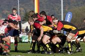 HEIDELBERG, Germany - October 18: Rugby European Championship U21 - Germany vs. Portugal October 18,