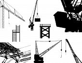 industrial equipment (vectors)