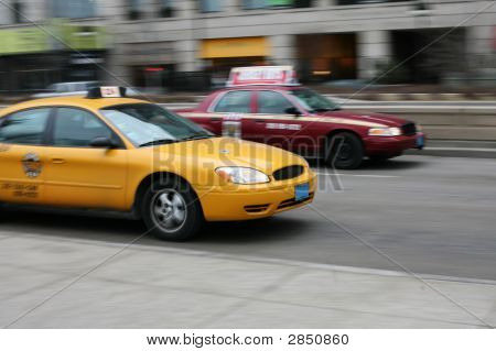 Taxis en Chicago