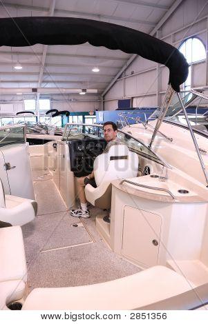Bow Rider Boat Interior