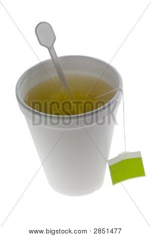 Tea In A Disposable Cup