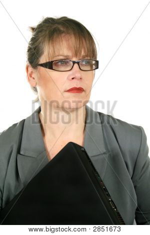 Businesswoman Looking Away