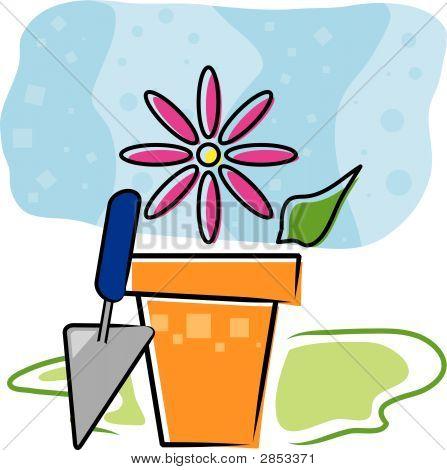 Spring Flowerpot