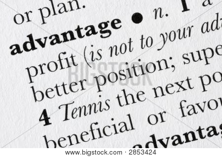 Advantage Word Dictionary Definition