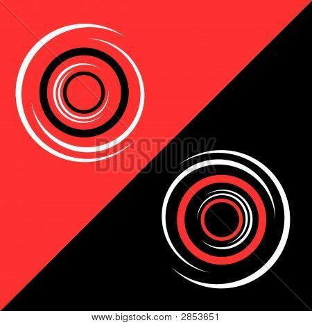 Abstract Tricolor Background