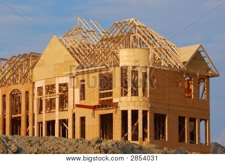 Construction Of A Luxury House