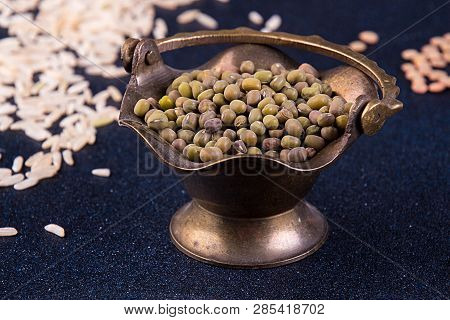 Mung Beans In Small Vintage