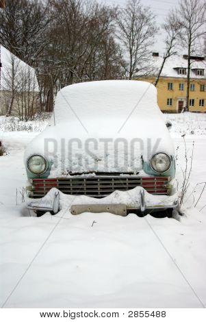 Old Forgotten Car