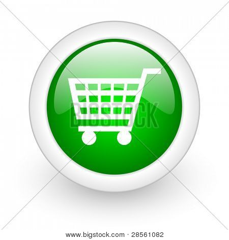 shopping cart web button