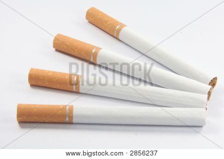 Stop Smoking Cigarettes With Nicotine, Tar And Tobacco