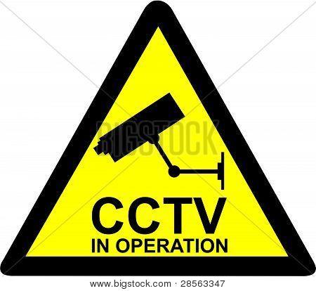Aviso de CFTV
