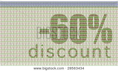 Discount Coupon -60%
