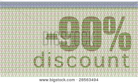 Discount Coupon -90%