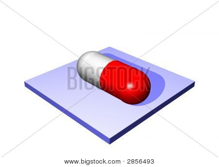 Prescription Drugs - Medical Icons Isolated