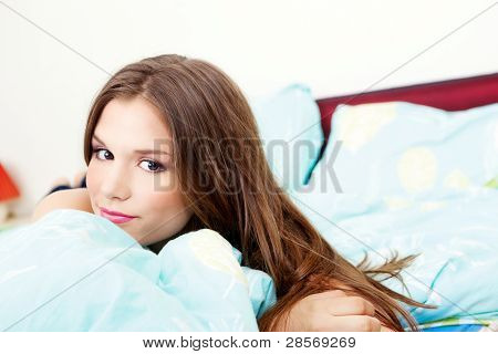 Girl In Bedroom