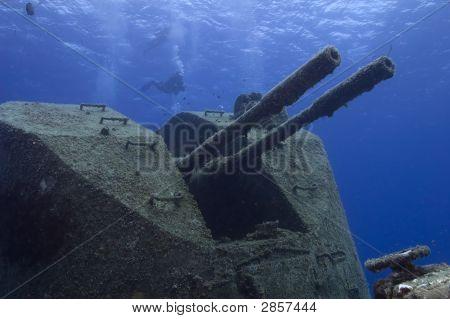 Shipwrecked  Warship