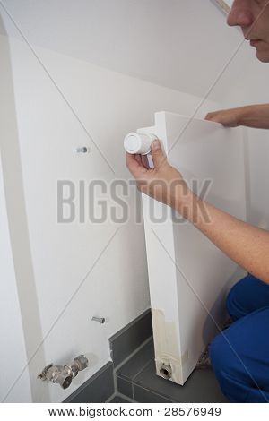 Radiator Installation