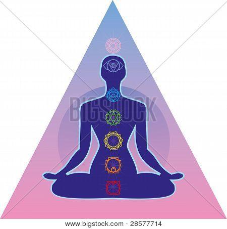 sistema de Chakras humano