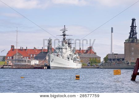 The Frigate Peder Skram In Copenhagen