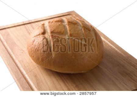 Sour Dough Bread Isolated