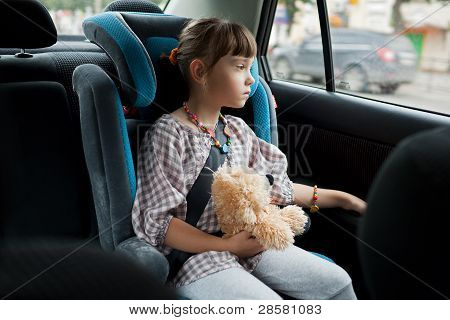 The Little Girl In The Chair Car
