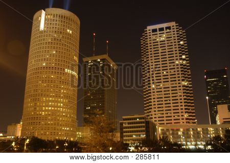 Tampa Night Skyline3