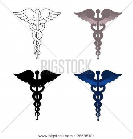 Caduceus symbols
