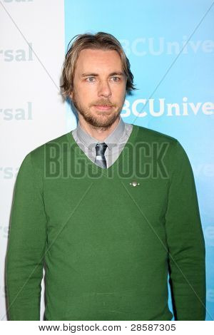 LOS ANGELES - JAN 6:  Dax Shepard arrives at the NBC Universal All-Star Winter TCA Party at The Athenauem on January 6, 2012 in Pasadena, CA