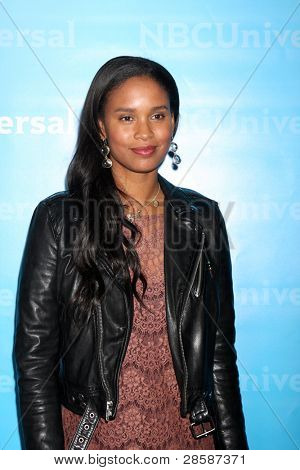 LOS ANGELES - JAN 6:  Joy Bryant arrives at the NBC Universal All-Star Winter TCA Party at The Athenauem on January 6, 2012 in Pasadena, CA