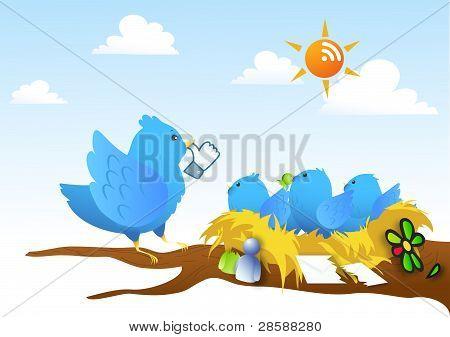 Parody - Social network rivals