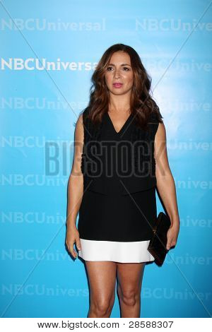 LOS ANGELES - JAN 6:  Maya Rudolph arrives at the NBC Universal All-Star Winter TCA Party at The Athenauem on January 6, 2012 in Pasadena, CA