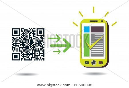Qr Code Processing In Cellphone