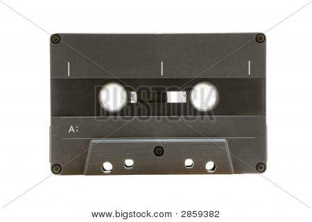 Grey Audio Tape