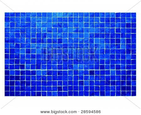 Blue small tile background