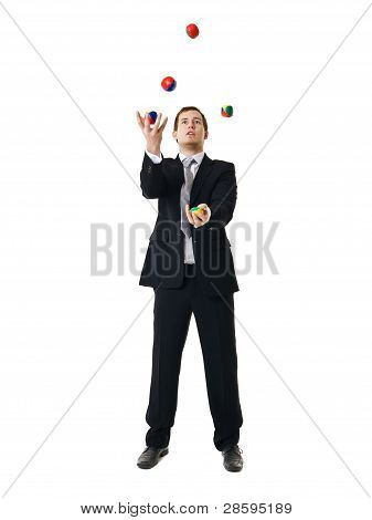 Juggling Man