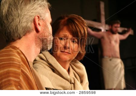 Mary & Peter At The Cross