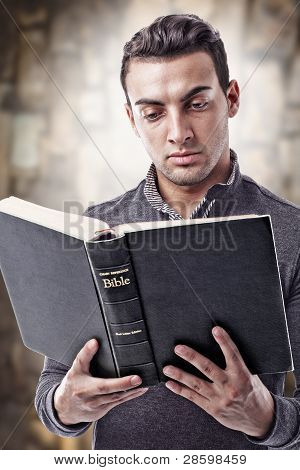 Reading Holy Bible