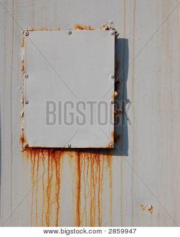 White Rusty Tag