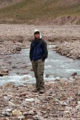 foto of aconcagua  - Acclimating at Casa de Piedra on the hike up to Aconcagua - JPG