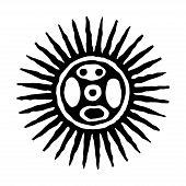 Sun Icon. Sun Symbol. Vector And Illustration. poster