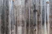Old Rustic Weathered Wood Barn Siding Background poster