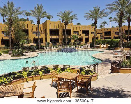 A Pool At The Wigwam, Litchfield Park, Arizona