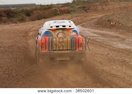 Portalegre, Portugal - November 3: Vladimir Vasilyev Drives A Mini All4Racing In Baja 500, Integrate