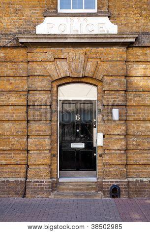 Police Station In London