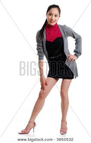 Sexy Oriental Woman